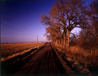 Saunders County, Nebraska, December 27,1992 by John Spence