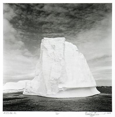 #147-92-2 Iceberg, Antartica 2-2004 by Larry Ferguson