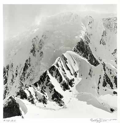 #148-19-22 Blowing Snow, Antarctica, 2004 by Larry Ferguson