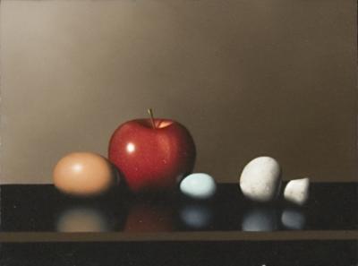 Apple, Mushroom & Eggs by Clifford T. Bailey