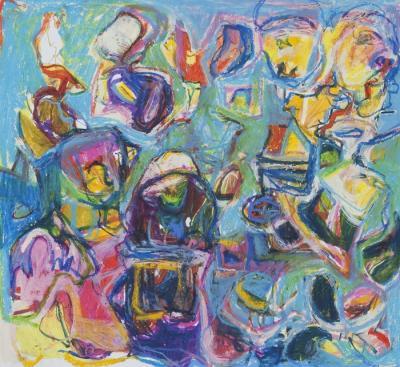 "Portal Series #65 ""Mardi Gras"" by Teresa Schmidt"