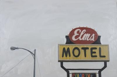 Elms Motel by Edwin Carter Weitz