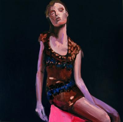 Brown Perch by Theresa Pfarr
