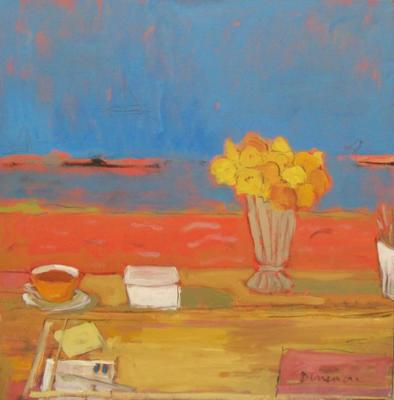 Still Life at Table by Stephen Dinsmore