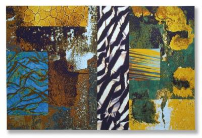 Abstraction No. 5: Crevasse by Michael James