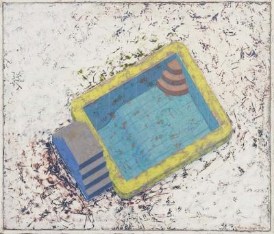 Swimming Pool by Martha Horvay