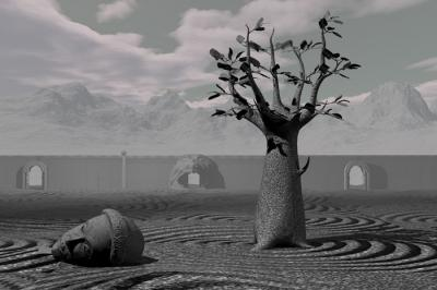 Philosophers Tree by Gary Day