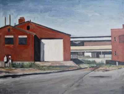 South of Downtown by Edwin Carter Weitz