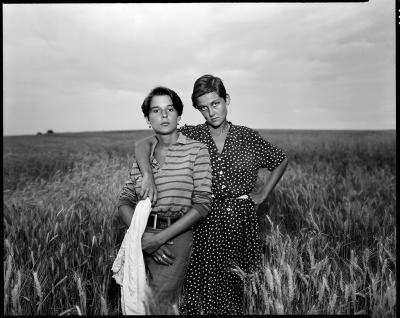 Kathy and Maria, July 1, 1976 by John Spence