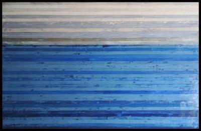 Bay Painting #2 by Graceann Warn