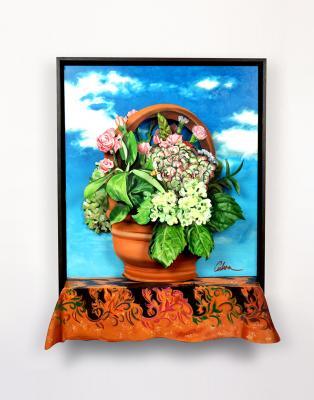 Monte's Hydrangea by Bob Culver