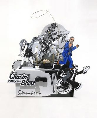 Kid and Koko Chasin' Away the Blues with Steve by Bob Culver