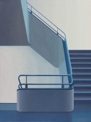 Brooklyn Stairwell by Merrill Peterson