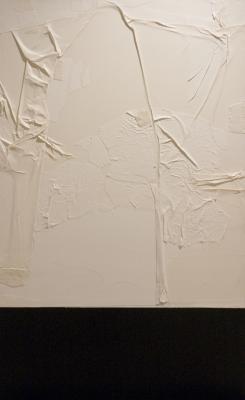 Glacial Slab (freestanding- side 2) by Joe Ruffo