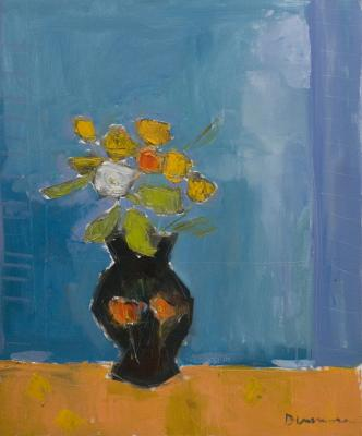 Black Vase by Stephen Dinsmore