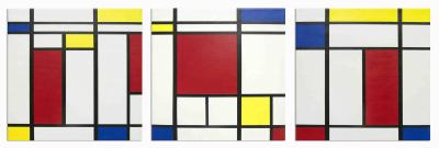 Ode to Mondrian, Mies and Philip Johnson, Verses 1-3 by Barbara McCuen