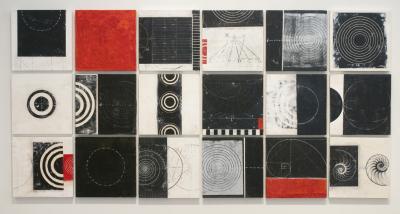 18 Tiles by Graceann Warn