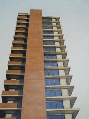 Condo Tower in San Francisco by Edwin Carter Weitz