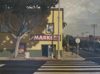 Corner Market by Edwin Carter Weitz