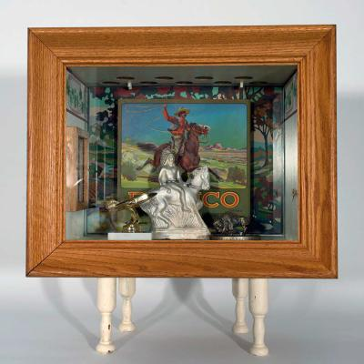 Buffalo Box Four by John Spence