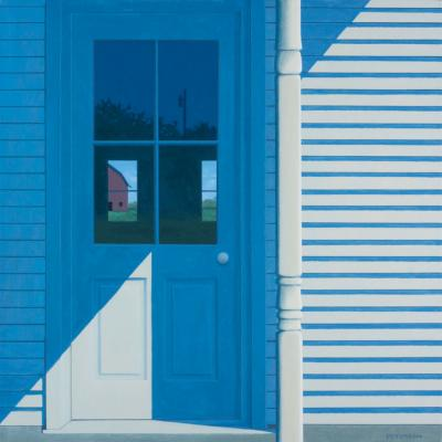 Farmhouse Door by Merrill Peterson