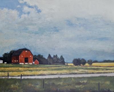 Hubbards Barn by Edwin Carter Weitz