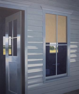 TR's Door by Merrill Peterson