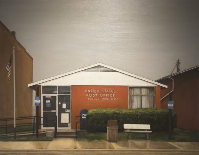 Post Office by Edwin Carter Weitz