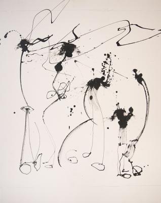 Hail Drawing #1 by Brian Gennardo