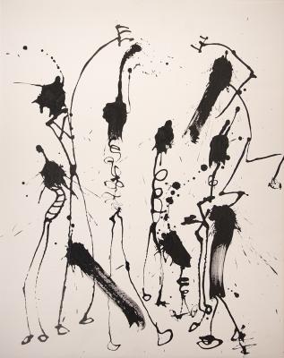 Hail Drawing #2 by Brian Gennardo