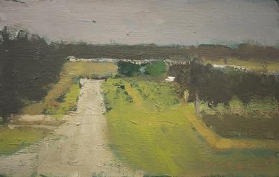 Landscape with Road by Stephen Dinsmore