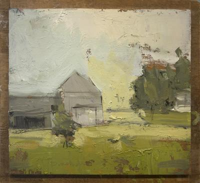 Gray Barn by Stephen Dinsmore