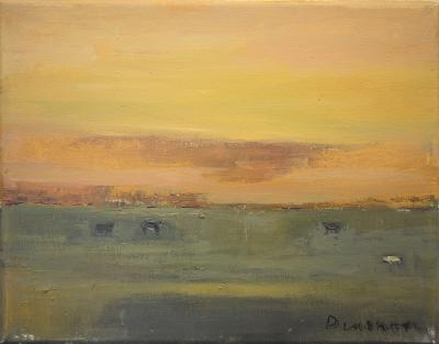 Cattle Grazing by Stephen Dinsmore
