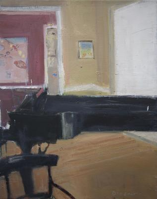 Piano, Interior by Stephen Dinsmore