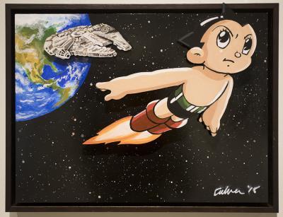 Study for Evolution: Astro Boy by Bob Culver