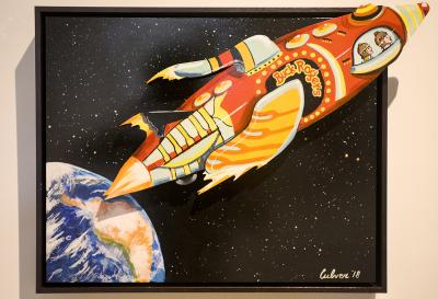 Study for Evolution: Buck Rogers by Bob Culver
