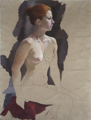 Figure Fragment No. 1 by Laura Nothern