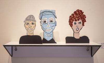 All My People: Boy in Gray Hat, Adriatic Man & Lucy by Catherine Ferguson