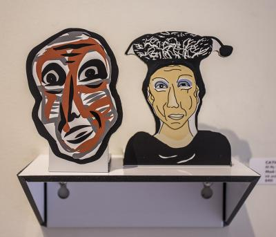 All My People: Mask Red & Albert by Catherine Ferguson