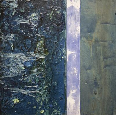 Chemical Reaction Painting No. 77 by Brent Witters