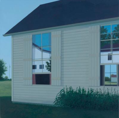 Iowa Farmhouse by Merrill Peterson