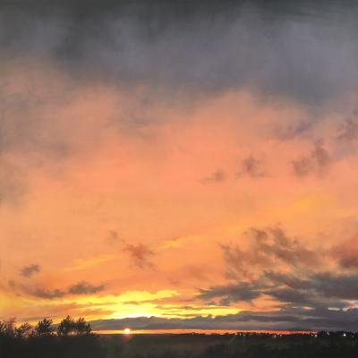Skies of Copper 09.14 by Jennifer Homan