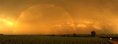 East of Ashland, Saunders County, Nebraska, July 14, 2010 by John Spence