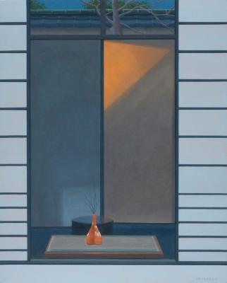 Kyoto Window by Merrill Peterson