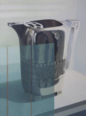 Museum Case Silver Pitcher by Merrill Peterson