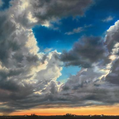 Billowing Skies by Jennifer Homan