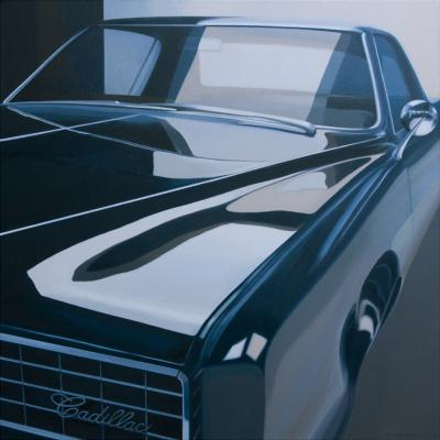 NYC Cadillac by Merrill Peterson