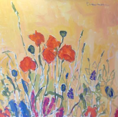 Poppies by Stephen Dinsmore
