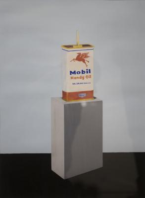 Mobil Handy Oil by Joe Ruffo