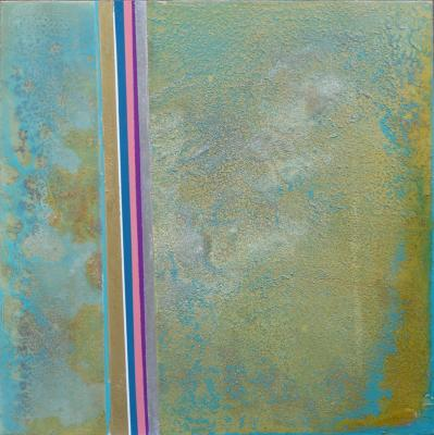 Chemical Reaction Painting No. 33 by Brent Witters